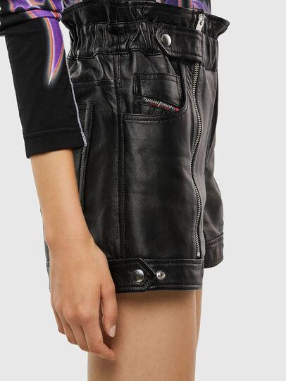 Diesel - L-KUNA, Black - Shorts - Image 3