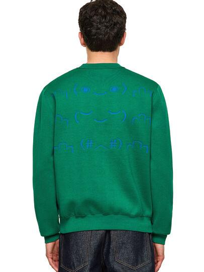 Diesel - K-TEXAS, Dark Green - Knitwear - Image 2