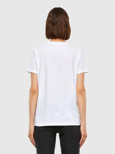 Diesel - T-SILY-V23, White - T-Shirts - Image 2