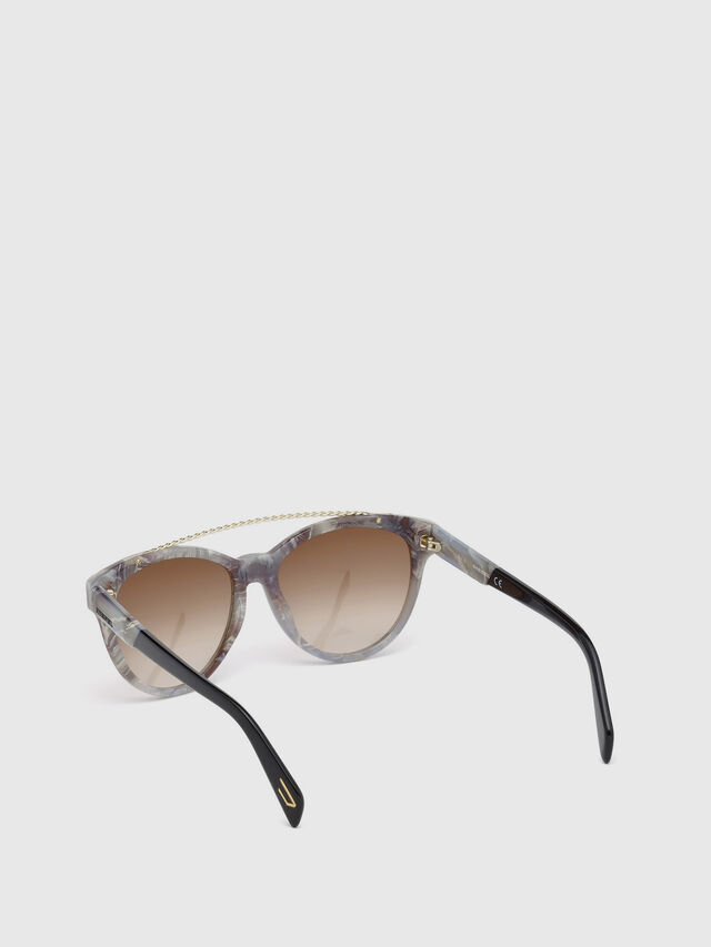 Diesel - DM0189, Grey - Sunglasses - Image 2