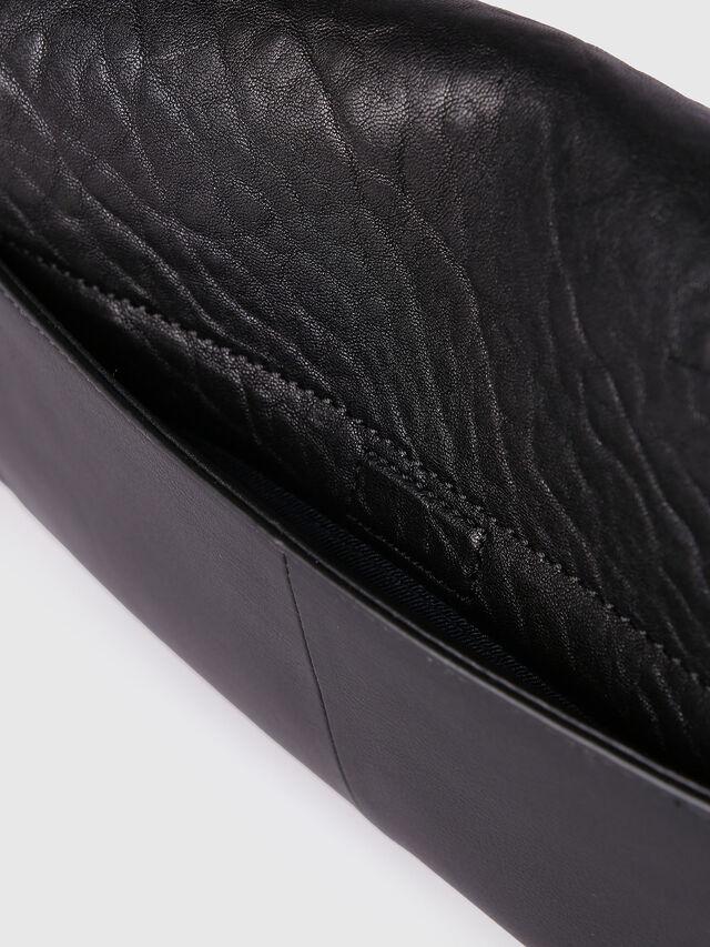 Diesel LE-MISHA, Black Leather - Crossbody Bags - Image 4