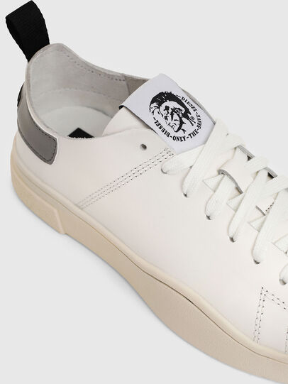 Diesel - S-CLEVER LS W, White/Grey - Sneakers - Image 4