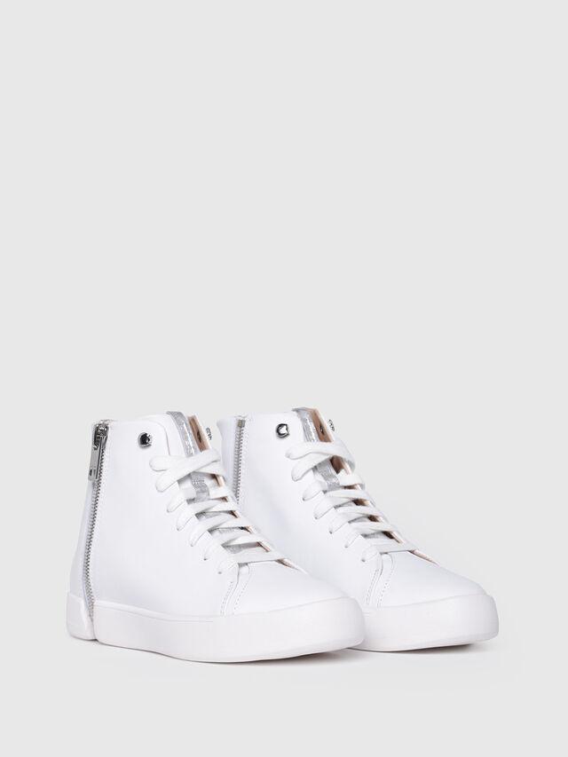 Diesel - S-NENTISH MC W, White - Sneakers - Image 2