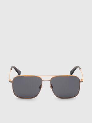DL0295, Orange/Black - Sunglasses
