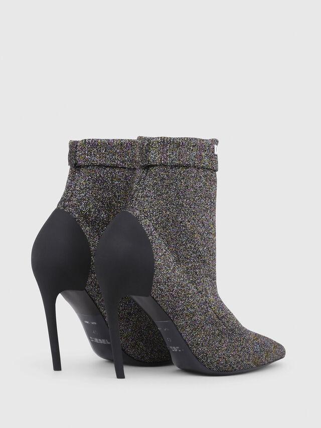 Diesel - D-SLANTY HASM, Multicolor/Black - Ankle Boots - Image 3