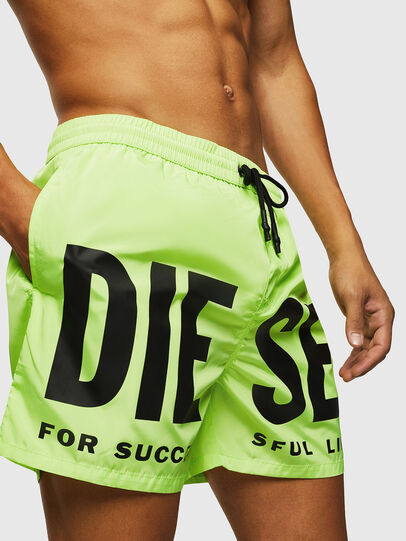 Diesel - BMBX-WAVE 2.017, Yellow Fluo - Swim shorts - Image 3