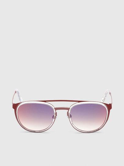 Diesel - DL0293, Red/White - Sunglasses - Image 1