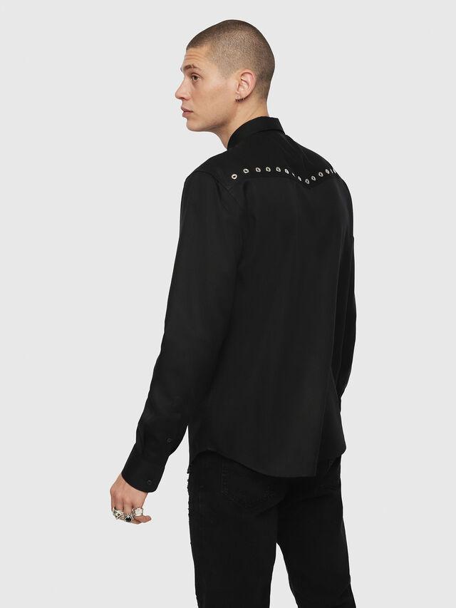 Diesel - S-HIROKI, Black - Shirts - Image 2