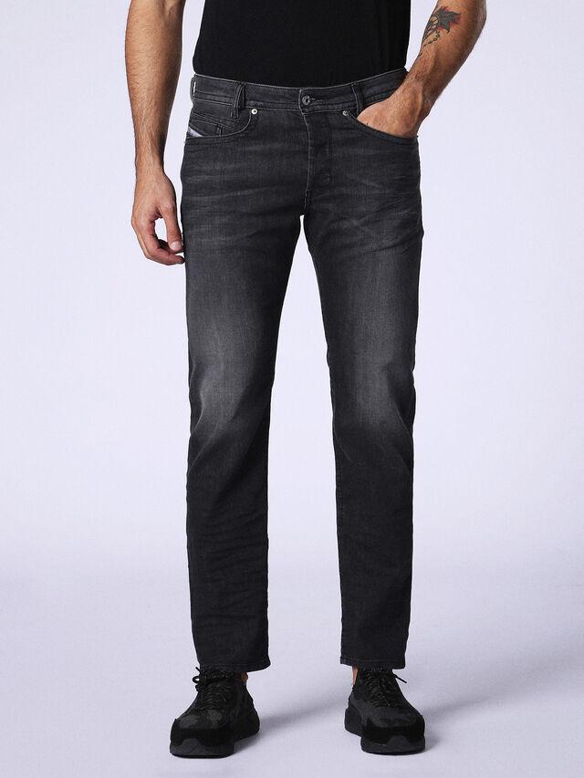 AKEE 0687J, Black Jeans