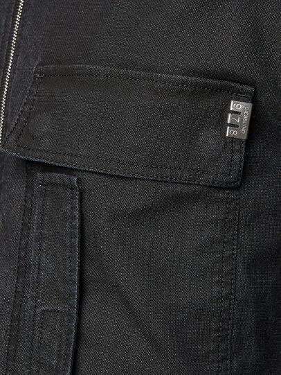 Diesel - D-DEVO-SP JOGGJEANS, Black - Jumpsuits - Image 4