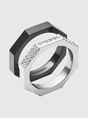 DX1158, Black/Silver - Rings
