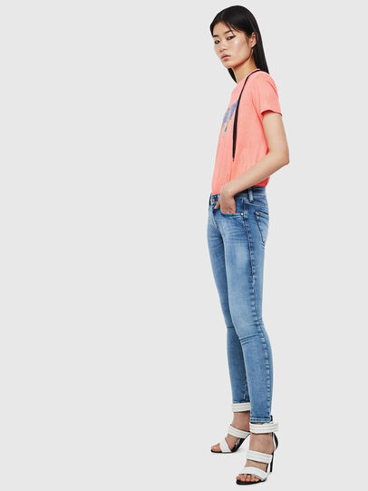 Diesel - Slandy Low 0095P, Light Blue - Jeans - Image 5