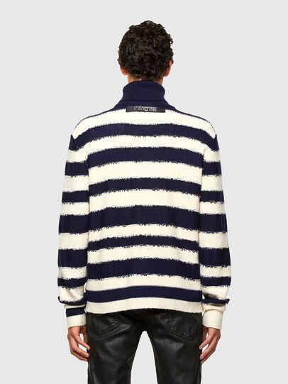 Diesel - K-BRENTON, Blue/White - Knitwear - Image 2