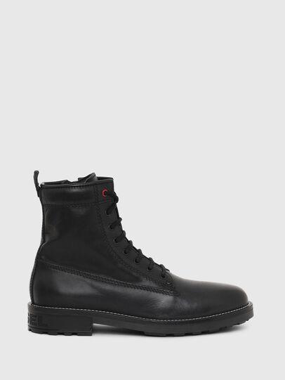 Diesel - D-THROUPER DBB Z, Black - Boots - Image 1