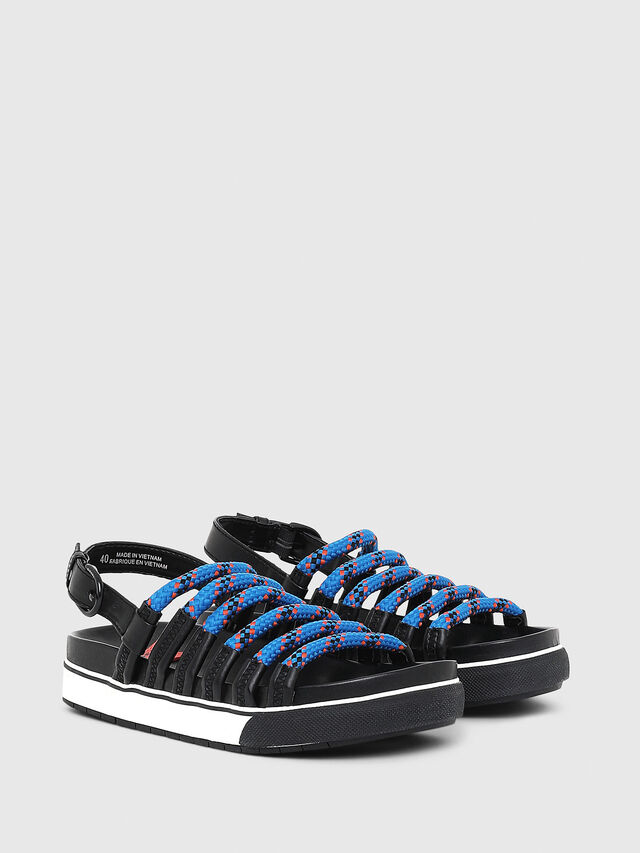 Diesel - SA-GRAND LC W, Black/Blue - Sandals - Image 2