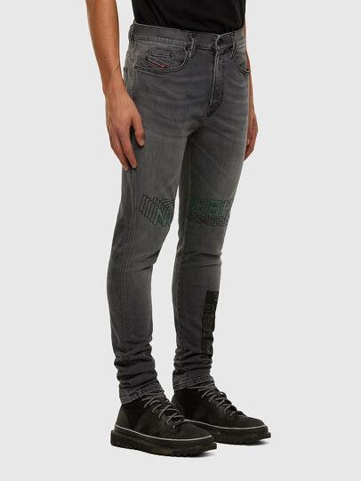 Diesel - D-Amny 009GL, Black/Dark grey - Jeans - Image 6