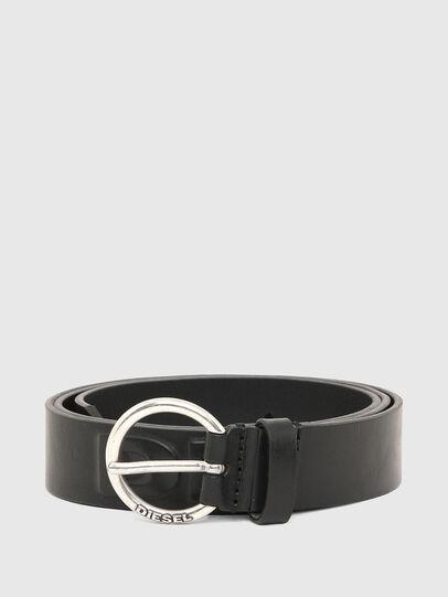 Diesel - B-RING, Black - Belts - Image 1