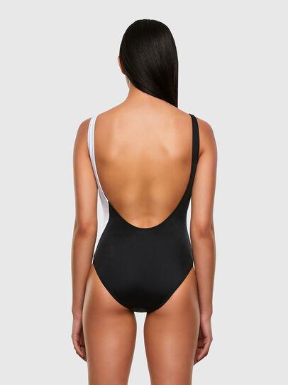 Diesel - BFSW-FLAMMYCUT, Black/White - Swimsuits - Image 2
