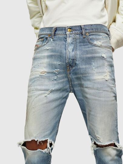 Diesel - D-Vider 0097J, Light Blue - Jeans - Image 3