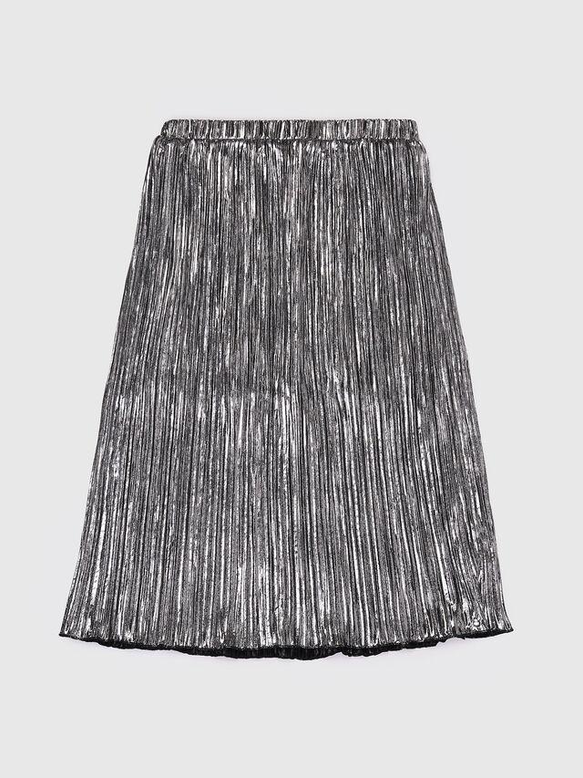Diesel - GLOBI, Silver - Skirts - Image 2