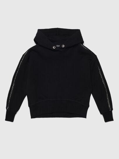 Diesel - SRALLA, Black - Sweaters - Image 1