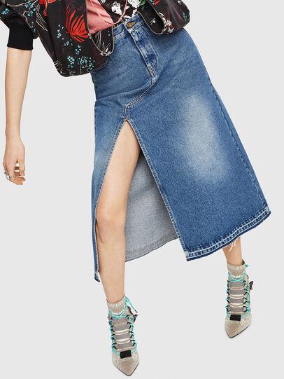 Diesel - DE-VYVIEN,  - Skirts - Image 4