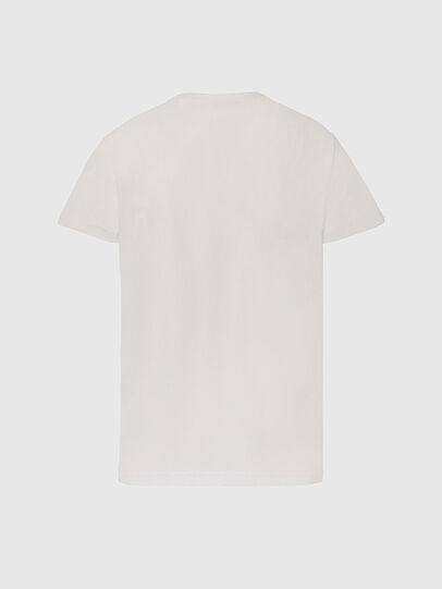 Diesel - T-DIEGOS-X45, White - T-Shirts - Image 2