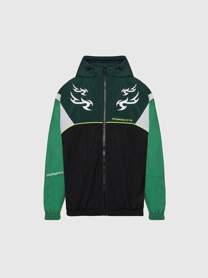 Diesel - J-ETHAN, Green/Black - Jackets - Image 1