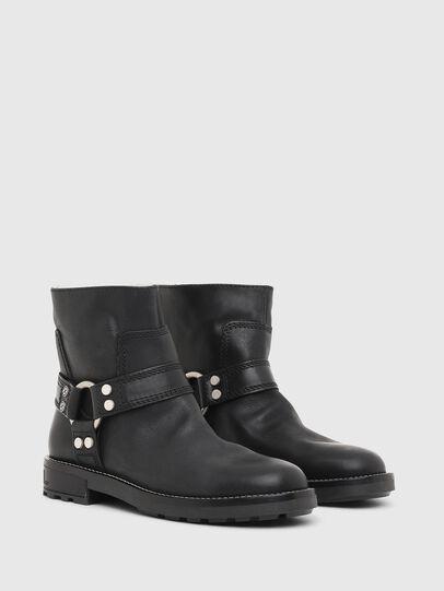 Diesel - D-THROUPER AB W, Black - Ankle Boots - Image 2
