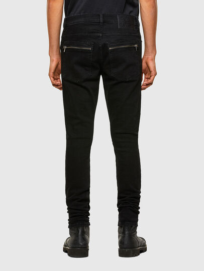 Diesel - D-Amny 009RB, Black/Dark grey - Jeans - Image 2