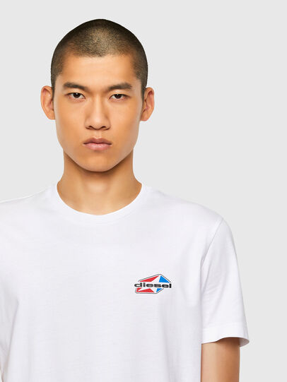 Diesel - T-DIEGOS-K36, White - T-Shirts - Image 3