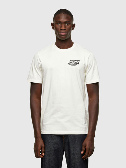 Diesel - T-JUST-A33, White - T-Shirts - Image 1