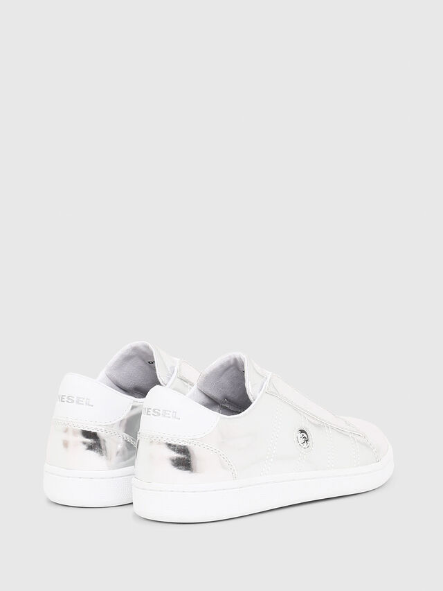 Diesel - SLIP ON 11 FULL COLO, Silver - Footwear - Image 3