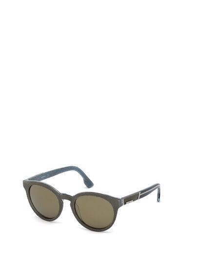 Diesel - DM0199, Green - Sunglasses - Image 4