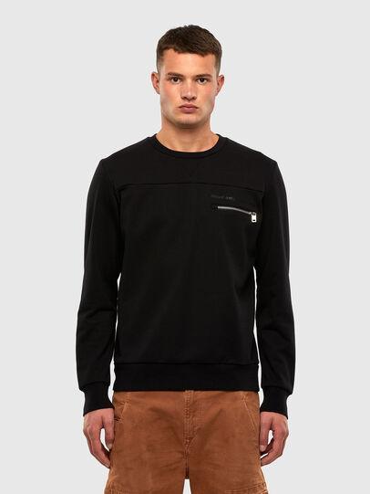 Diesel - S-CORINNE, Black - Sweaters - Image 1