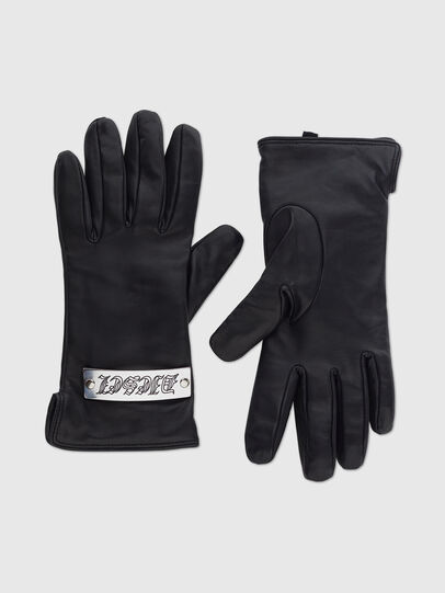 Diesel - G-PLACKI, Black - Gloves - Image 1