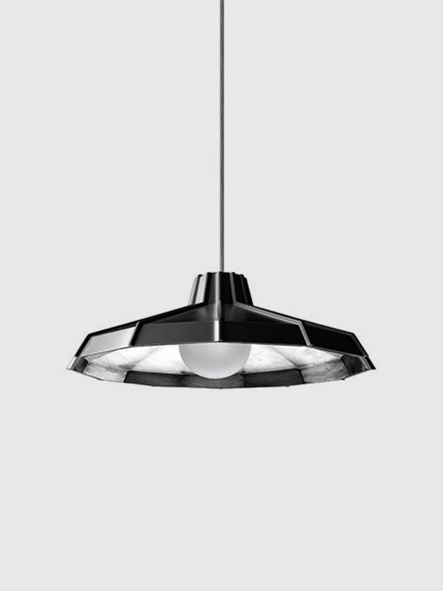 Diesel - MYSTERIO SOSPENSIONE, Black/Grey - Hang Lighting - Image 1