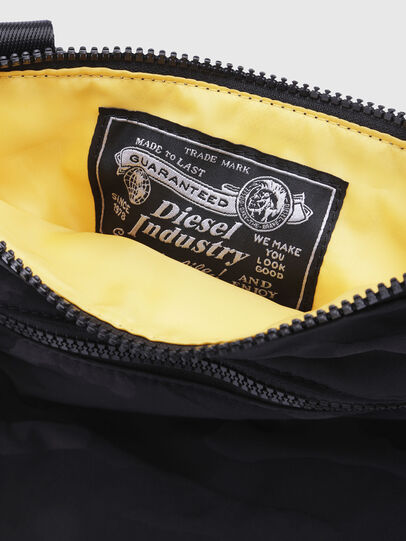 Diesel - F-DISCOVER CROSS, Black/Yellow - Crossbody Bags - Image 3
