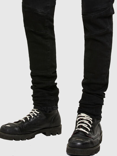 Diesel - D-Amny 009RB, Black/Dark grey - Jeans - Image 5