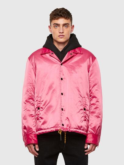 Diesel - J-FOOT, Pink - Jackets - Image 1