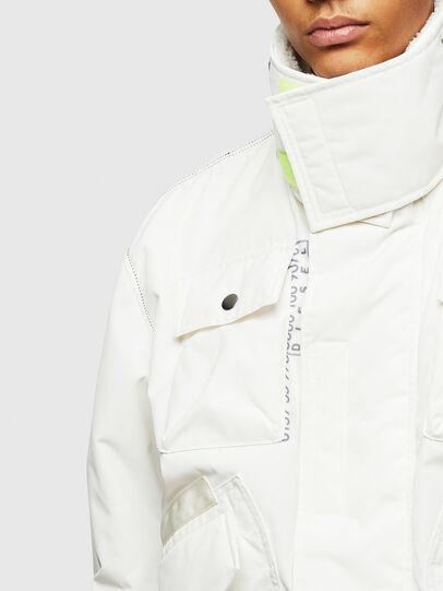 Diesel - W-OKSO, White - Winter Jackets - Image 7