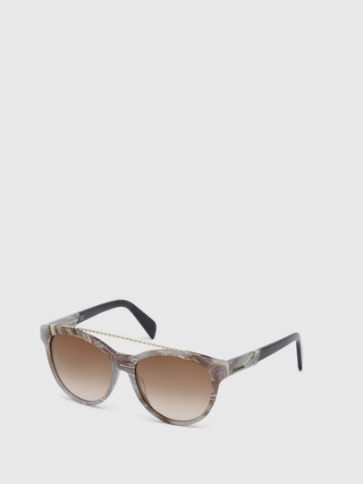 Diesel - DM0189, Grey - Sunglasses - Image 4