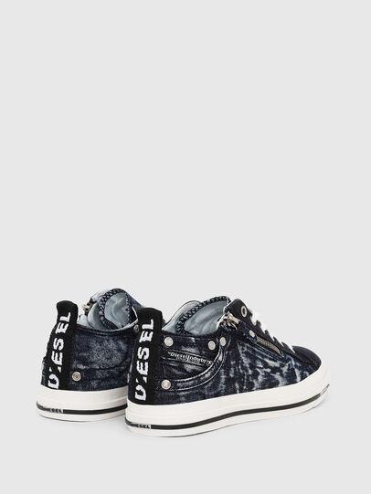 Diesel - EXPO-ZIP LOW W, Dark Blue - Sneakers - Image 3