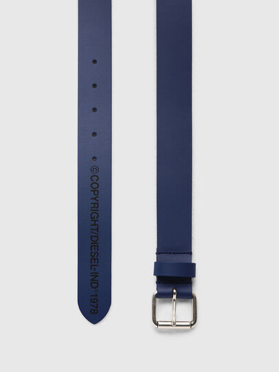 Diesel - B-COPY, Blue - Belts - Image 3