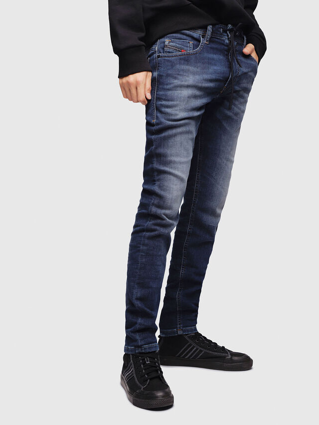 Diesel - Thommer JoggJeans 088AX, Medium blue - Jeans - Image 1