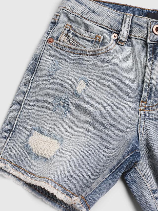 Diesel - PTELVE, Light Blue - Shorts - Image 3