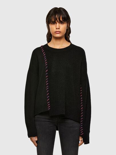Diesel - M-MYRA, Black - Knitwear - Image 1