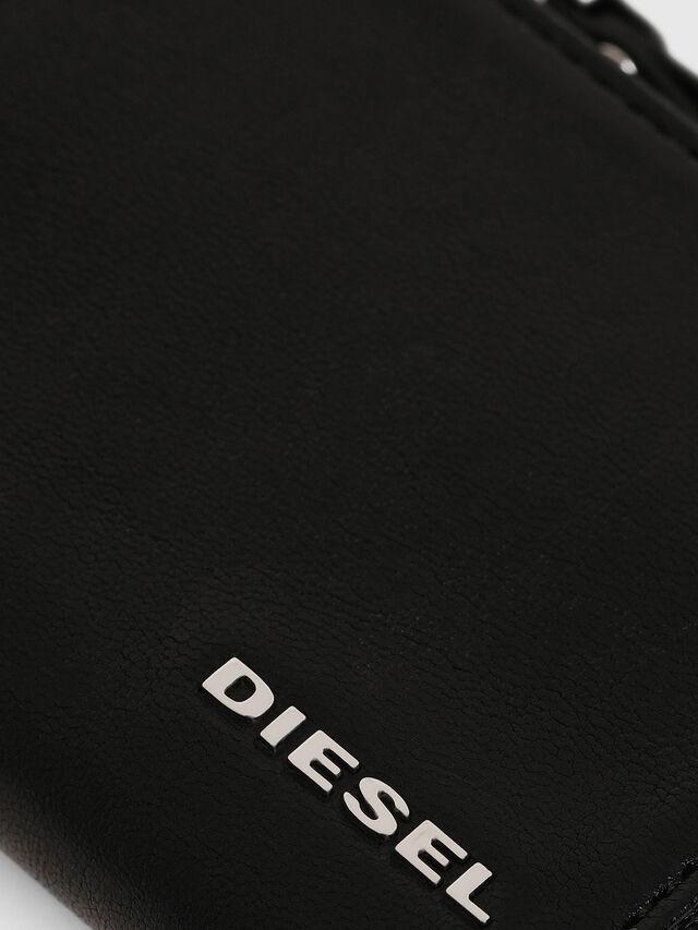 Diesel - L-PASSME, Black - Small Wallets - Image 3