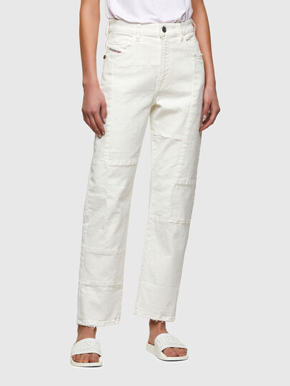 Diesel - D-Reggy 009UL, White - Jeans - Image 1