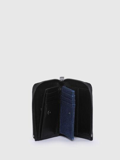 Diesel - L-12 ZIP, Blue/Black - Small Wallets - Image 4